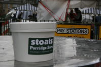 Porridge at the farmers market