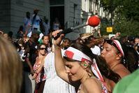 Drumming at the Carnival